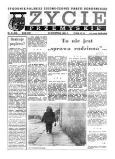 Życie Przemyskie : tygodnik Polskiej Zjednoczonej Partii Robotniczej. 1985, R. 19, nr 15 (902) (10 kwietnia)