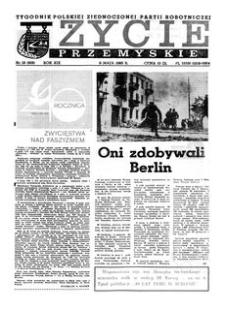 Życie Przemyskie : tygodnik Polskiej Zjednoczonej Partii Robotniczej. 1985, R. 19, nr 19 (906) (8 maja)