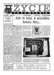 Życie Przemyskie : tygodnik Polskiej Zjednoczonej Partii Robotniczej. 1985, R. 19, nr 21 (908) (22 maja)