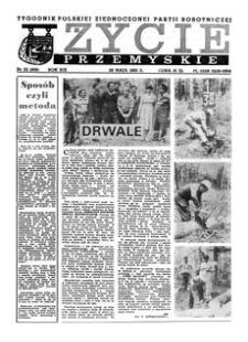Życie Przemyskie : tygodnik Polskiej Zjednoczonej Partii Robotniczej. 1985, R. 19, nr 22 (909) (29 maja)