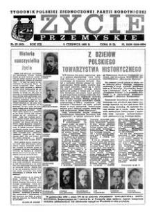 Życie Przemyskie : tygodnik Polskiej Zjednoczonej Partii Robotniczej. 1985, R. 19, nr 23 (910) (5 czerwca)