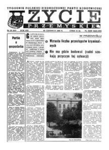 Życie Przemyskie : tygodnik Polskiej Zjednoczonej Partii Robotniczej. 1985, R. 19, nr 26 (913) (26 czerwca)