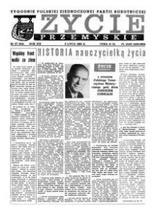 Życie Przemyskie : tygodnik Polskiej Zjednoczonej Partii Robotniczej. 1985, R. 19, nr 27 (914) (3 lipca)