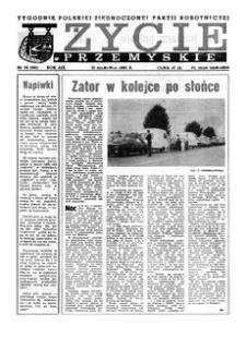 Życie Przemyskie : tygodnik Polskiej Zjednoczonej Partii Robotniczej. 1985, R. 19, nr 34 (921) (21 sierpnia)