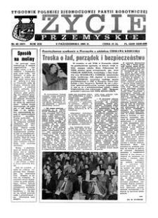 Życie Przemyskie : tygodnik Polskiej Zjednoczonej Partii Robotniczej. 1985, R. 19, nr 40 (927) (2 października)