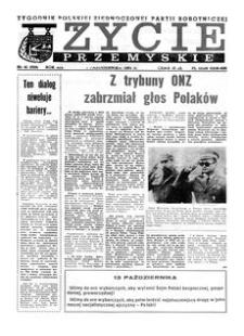 Życie Przemyskie : tygodnik Polskiej Zjednoczonej Partii Robotniczej. 1985, R. 19, nr 41 (928) (9 października)