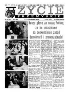Życie Przemyskie : tygodnik Polskiej Zjednoczonej Partii Robotniczej. 1985, R. 19, nr 42 (929) (16 października)