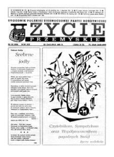 Życie Przemyskie : tygodnik Polskiej Zjednoczonej Partii Robotniczej. 1985, R. 19, nr 52 (939) (25 grudnia)