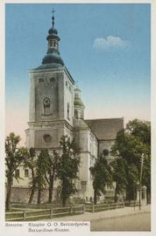 Rzeszów. Klasztor O. O. Bernardynów = Bernardiner-Kloster [Pocztówka]