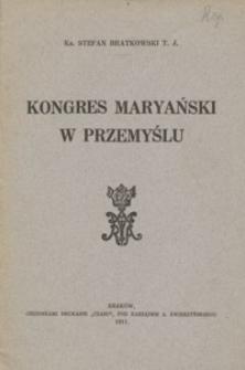 Kongres Maryański w Przemyślu