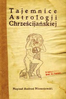 Tajemnice astrologii chrześcijańskiej