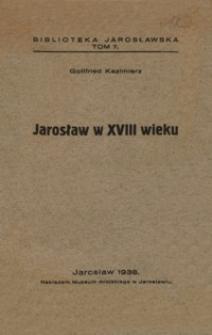 Jarosław w XVIII wieku