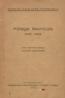 Księga ławnicza : 1445-1452