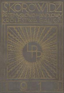 Skorowidz przemysłowo-handlowy Królestwa Galicyi