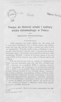 Studya do historyi sztuki i kultury wieku osiemnastego w Polsce. T. 1, Monografia Dukli