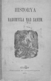 Historya Radomyśla nad Sanem
