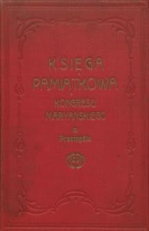 Księga pamiątkowa Drugiego Kongresu Maryańskiego Polskiego i zarazem wiecu katolickich stowarzyszeń polskich, odbytego w Przemyślu w dniach 26, 27, 28 sierpnia 1911 r.
