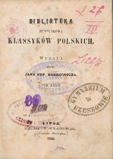 Dzieła poetyczne wierszem i prozą J. P. Woronicza. T. 3 / wyd. Jana Nep. Bobrowicza