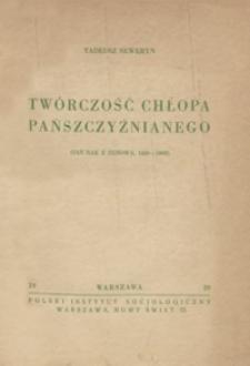 Twórczość chłopa pańszczyźnianego : (Jan Rak z Husowa, 1820-1909)