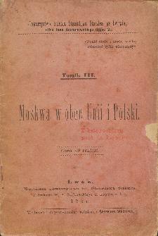 Moskwa w obec Unii i Polski