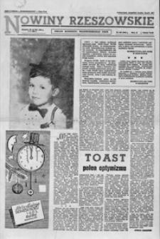 Nowiny Rzeszowskie : organ KW Polskiej Zjednoczonej Partii Robotniczej. 1962, nr 308, 1-26 (styczeń)