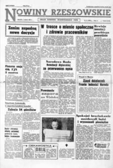 Nowiny Rzeszowskie : organ KW Polskiej Zjednoczonej Partii Robotniczej. 1962, nr 51-60, 62-73, 75-77 (marzec)