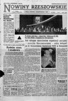 Nowiny Rzeszowskie : organ KW Polskiej Zjednoczonej Partii Robotniczej. 1962, nr 77-101 (kwiecień)