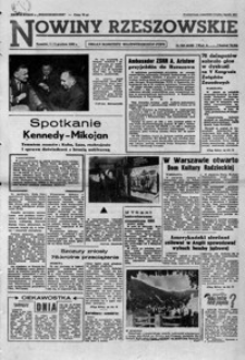 Nowiny Rzeszowskie : organ KW Polskiej Zjednoczonej Partii Robotniczej. 1962, nr 286-309 (grudzień)