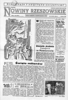 Nowiny Rzeszowskie : organ KW Polskiej Zjednoczonej Partii Robotniczej. 1963, nr 102-128 (maj)