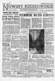Nowiny Rzeszowskie : organ KW Polskiej Zjednoczonej Partii Robotniczej. 1963, nr 180-206 (sierpień)