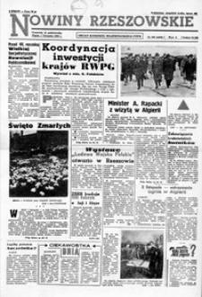 Nowiny Rzeszowskie : organ KW Polskiej Zjednoczonej Partii Robotniczej. 1963, nr 258-282 (listopad)