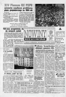 Nowiny Rzeszowskie : organ KW Polskiej Zjednoczonej Partii Robotniczej. 1963, nr 283-307 (grudzień)
