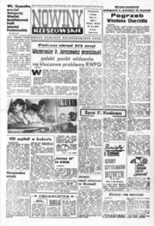 Nowiny Rzeszowskie : organ KW Polskiej Zjednoczonej Partii Robotniczej. 1965, nr 26-49 (luty)