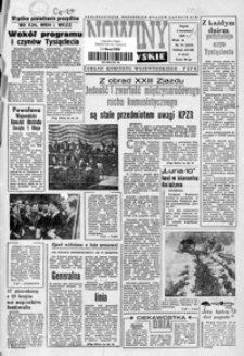 Nowiny Rzeszowskie : organ KW Polskiej Zjednoczonej Partii Robotniczej. 1966, nr 77-101 (kwiecień)