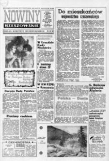 Nowiny Rzeszowskie : organ KW Polskiej Zjednoczonej Partii Robotniczej. 1967, nr 310, 1-26 (styczeń)