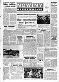 Nowiny Rzeszowskie : organ KW Polskiej Zjednoczonej Partii Robotniczej. 1968, nr 155-180 (lipiec)