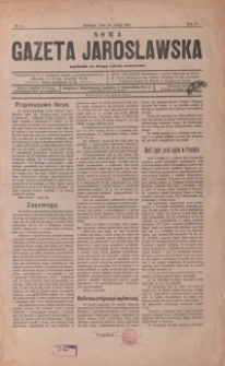 Nowa Gazeta Jarosławska. 1914, R. 4, nr 4-15