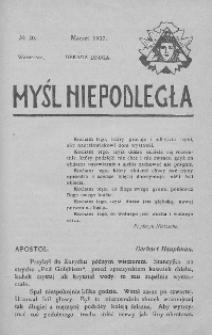 Myśl Niepodległa 1907 nr 20
