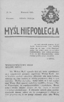 Myśl Niepodległa 1907 nr 24