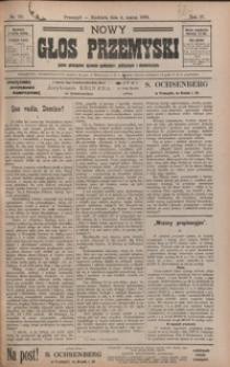 Nowy Głos Przemyski : pismo poświęcone sprawom społecznym, politycznym i ekonomicznym. 1906, R. 4, nr 10-13 (marzec)
