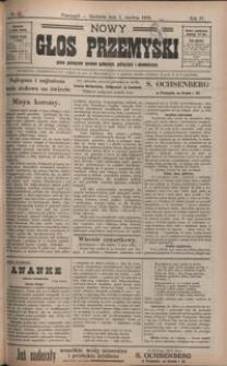 Nowy Głos Przemyski : pismo poświęcone sprawom społecznym, politycznym i ekonomicznym. 1906, R. 4, nr 23-26 (czerwiec)