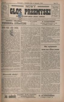 Nowy Głos Przemyski : pismo poświęcone sprawom społecznym, politycznym i ekonomicznym. 1906, R. 4, nr 45-48 (listopad)