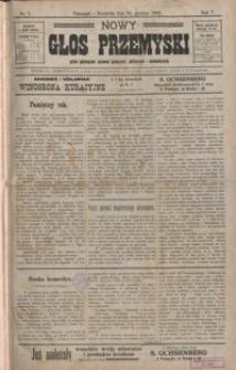 Nowy Głos Przemyski : pismo poświęcone sprawom społecznym, politycznym i ekonomicznym. 1907, R. 5, nr 1-5 (styczeń)