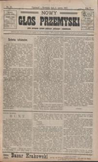 Nowy Głos Przemyski : pismo poświęcone sprawom społecznym, politycznym i ekonomicznym. 1907, R. 5, nr 10-16 (marzec)