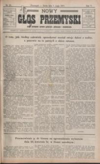 Nowy Głos Przemyski : pismo poświęcone sprawom społecznym, politycznym i ekonomicznym. 1907, R. 5, nr 25-32 (maj)