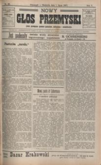 Nowy Głos Przemyski : pismo poświęcone sprawom społecznym, politycznym i ekonomicznym. 1907, R. 5, nr 38, 40-42 (lipiec)