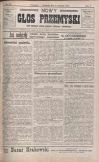 Nowy Głos Przemyski : pismo poświęcone sprawom społecznym, politycznym i ekonomicznym. 1907, R. 5, nr 43-46 (sierpień)