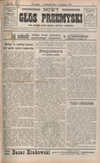Nowy Głos Przemyski : pismo poświęcone sprawom społecznym, politycznym i ekonomicznym. 1907, R. 5, nr 56-59 (listopad)