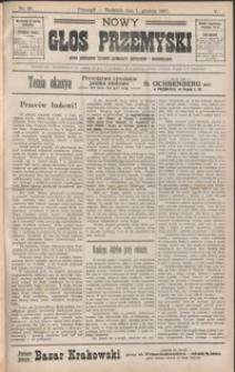Nowy Głos Przemyski : pismo poświęcone sprawom społecznym, politycznym i ekonomicznym. 1907, R. 5, nr 60-64 (grudzień)