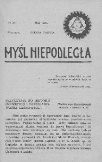 Myśl Niepodległa 1907 nr 27